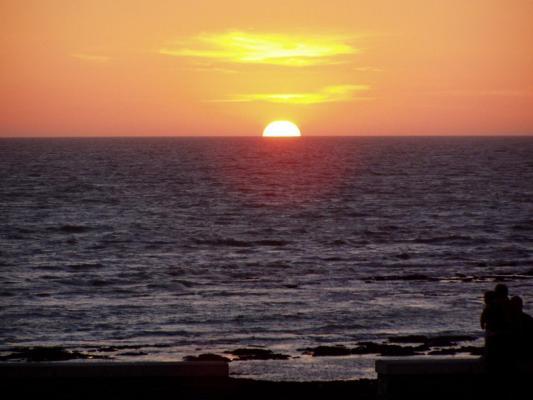 Coucher de solei sur l'océan Atlantique (Vendée)